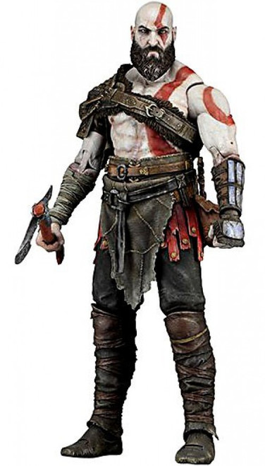 NECA God of War Kratos Action Figure [2018]