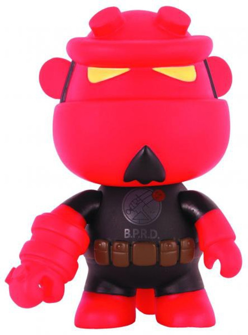 Qee Hellboy B.P.R.D. 5'' Deluxe Mini Figure