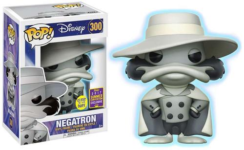 Funko Darkwing Duck POP! Disney Negatron Exclusive Vinyl Figure #300 [Glow-in-the-Dark]