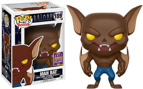Funko Batman The Animated Series POP! Heroes Man Bat Exclusive Vinyl Figure #189