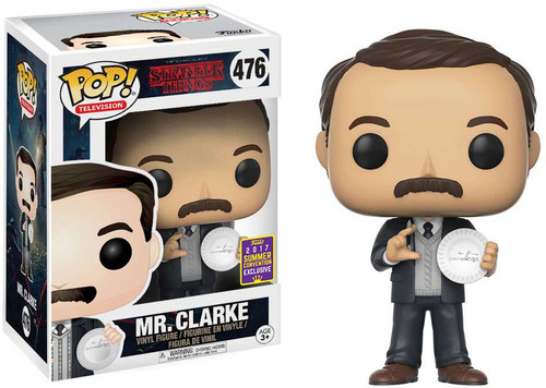 Funko Stranger Things POP! TV Mr. Clarke Exclusive Vinyl Figure #476
