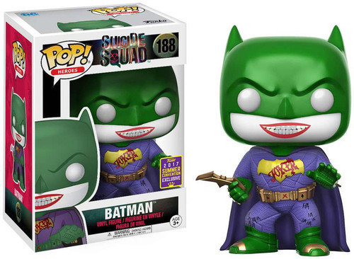 Funko Suicide Squad POP! Movies Joker Batman Exclusive Vinyl Figure #188