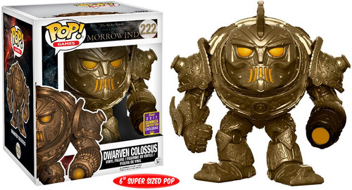 Funko The Elder Scrolls Morrowind POP! Games Dwarven Colossus Exclusive 6-Inch Vinyl Figure #222 [Super-Size]