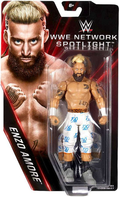WWE Wrestling Network Spotlight Enzo Amore Exclusive Action Figure