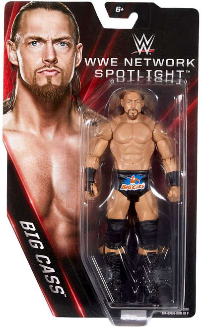 WWE Wrestling Network Spotlight Big Cass Exclusive Action Figure