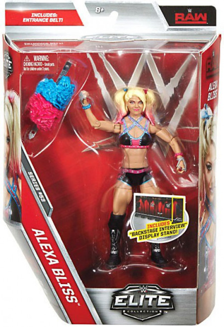 WWE Wrestling Elite Collection Series 53 Alexa Bliss Action Figure [Entrance Belt]