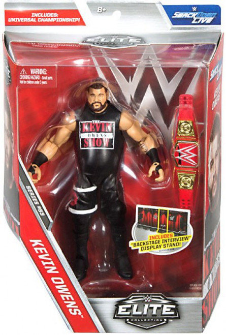 WWE Wrestling Elite Collection Series 53 Kevin Owens Action Figure [Universal Championship Belt]