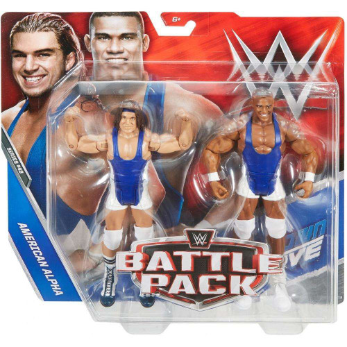 WWE Wrestling Battle Pack Series 48 Jason Jordan & Chad Gable Action Figure 2-Pack [American Alpha]