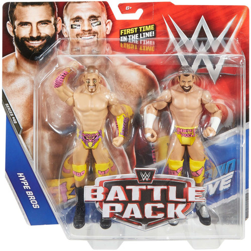 WWE Wrestling Battle Pack Series 48 Mojo Rawley & Zack Ryder Action Figure 2-Pack [Hype Bros]