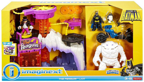 Fisher Price DC Super Friends Imaginext The Penguin Lair Exclusive Playset