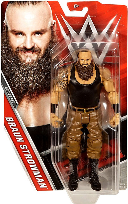 WWE Wrestling Series 75 Braun Strowman Action Figure