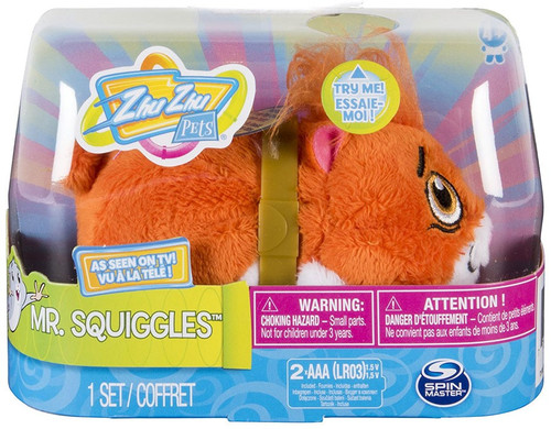 Zhu Zhu Pets Mr. Squiggles Hamster Toy