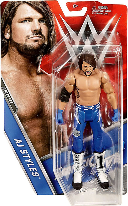 WWE Wrestling Series 76 AJ Syles Action Figure
