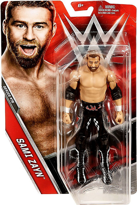 WWE Wrestling Series 76 Sami Zayn Action Figure