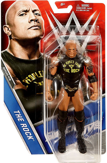 WWE Wrestling Series 76 The Rock Action Figure