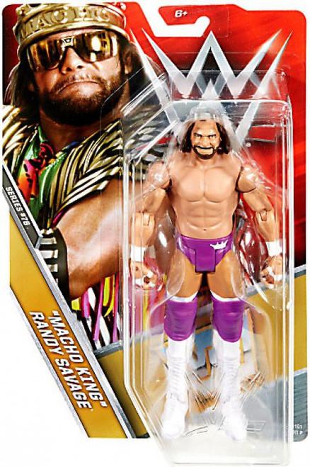 WWE Wrestling Series 76 Macho King Randy Savage Action Figure