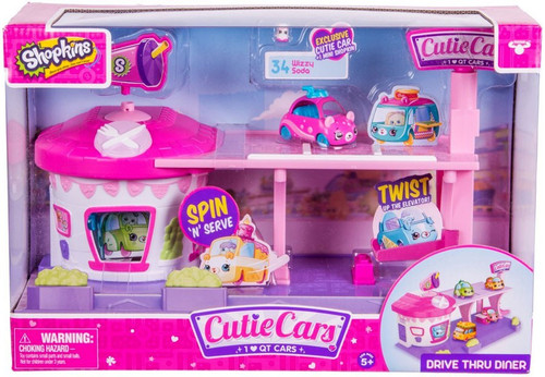 Shopkins Cutie Cars Drive Thru Diner Playset