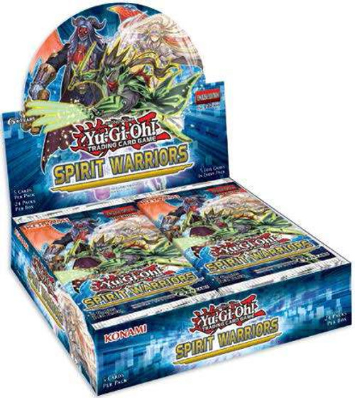 YuGiOh Trading Card Game Spirit Warriors Booster Box [24 Packs]