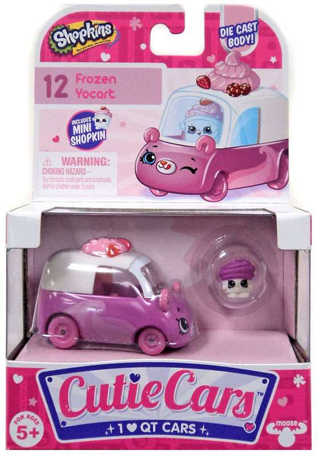 Shopkins Cutie Cars Frozen Yocart Figure Pack #12