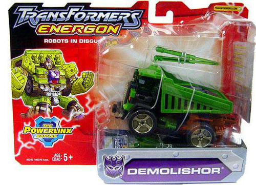Transformers Energon The Powerlinx Battles Demolishor Mega Action Figure [Damaged Package]