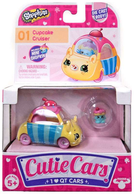 Shopkins Cutie Cars Cupcake Cruiser Figure Pack #01