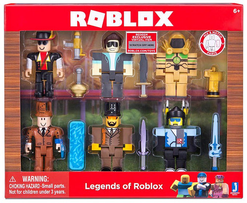 Legends of Roblox Action Figure 6-Pack