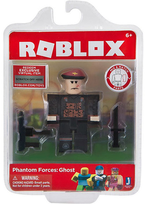 Roblox Phantom Forces: Ghost Action Figure