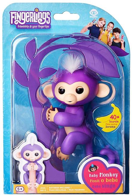 Fingerlings Baby Monkey Mia Figure