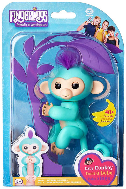 Fingerlings Baby Monkey Zoe Figure