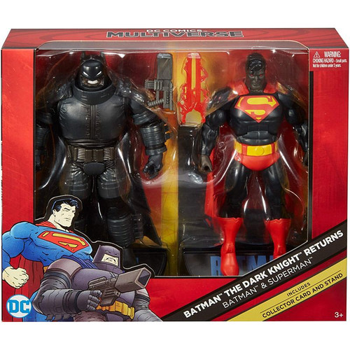 DC Batman: Dark Knight Returns Multiverse Batman & Superman Exclusive Action Figure 2-Pack