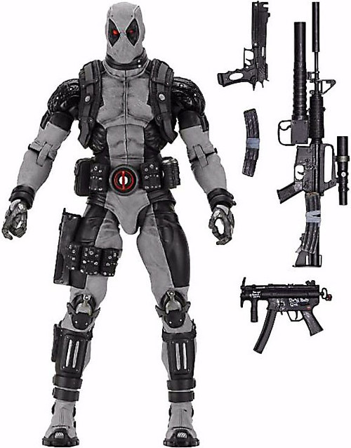 NECA Marvel X-Force Quarter Scale Deadpool Action Figure [X-Force]