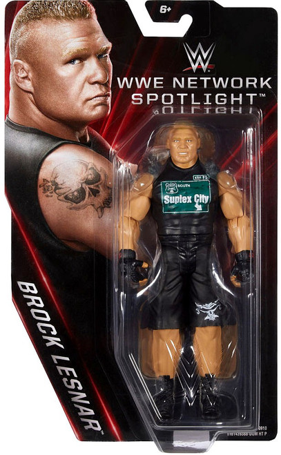 WWE Wrestling Network Spotlight Brock Lesnar Exclusive Action Figure