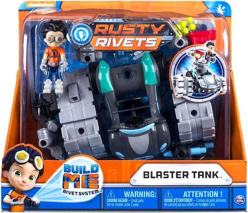 Nickelodeon Rusty Rivets Build Me Rivet System Blaster Tank Vehicle & Figure