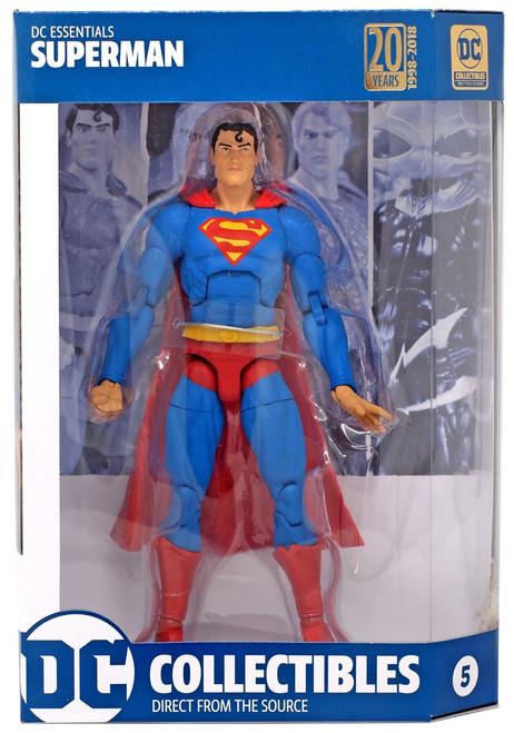 DC Essentials Superman Action Figure (Pre-Order ships November)