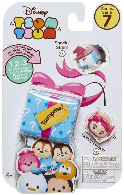 Disney Tsum Tsum Series 7 Shock & Honey Lemon 1-Inch Minifigure 3-Pack #441 & 733