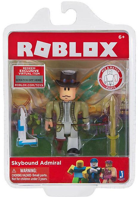 Roblox Skybound Admiral Action Figure