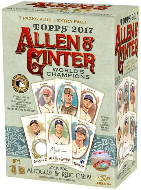 MLB Topps 2017 Allen & Ginter Baseball Trading Card BLASTER Box [8 Packs]