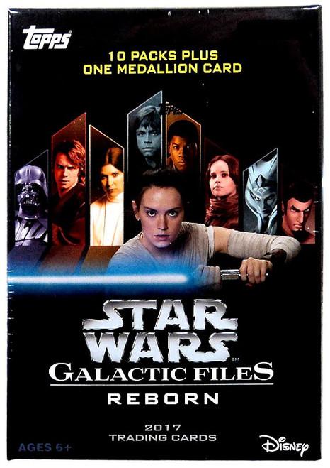 Star Wars Topps Galactic Files Reborn Trading Card BLASTER Box [10 Packs]