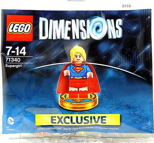 LEGO Dimensions Supergirl Exclusive Set #71340 [Bagged]