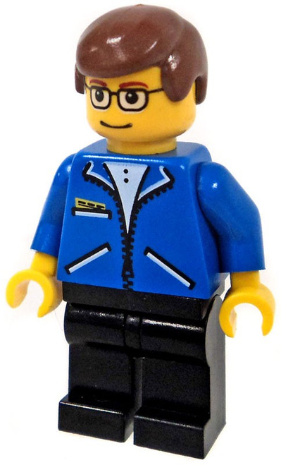 LEGO Spider-Man Peter Parker in Blue Jacket Minifigure [Loose]