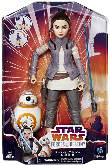 Star Wars Forces of Destiny Adventure Rey & BB-8 Figure 2-Pack