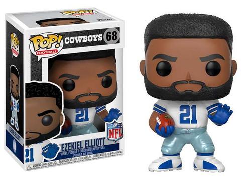 Funko NFL Dallas Cowboys POP! Sports Football Ezekiel Elliott Vinyl Figure [White Jersey]