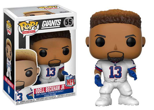 Funko NFL New York Giants POP! Sports Football Odell Beckham Jr. Vinyl Figure [Color Rush, All White Uniform]