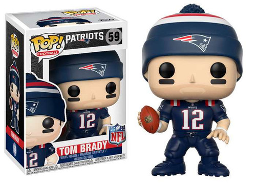 Funko NFL New England Patriots POP! Sports Football Tom Brady Vinyl Figure #59 [Color Rush]