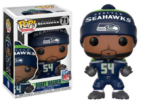 Funko NFL Seattle Seahawks POP! Sports Football Bobby Wagner Vinyl Figure [Home Jersey]