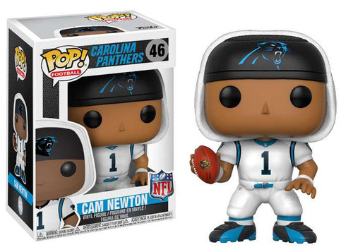 Funko NFL Carolina Panthers POP! Sports Football Cam Newton Vinyl Figure [White Jersey]