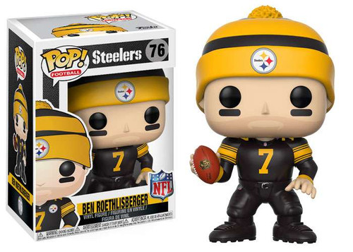 Funko NFL Pittsburgh Steelers POP! Sports Football Ben Roethlisberger Vinyl Figure [Color Rush]