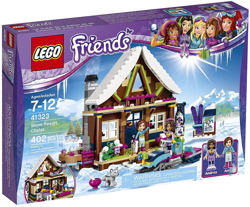 LEGO Friends Snow Resort Chalet Set #41323