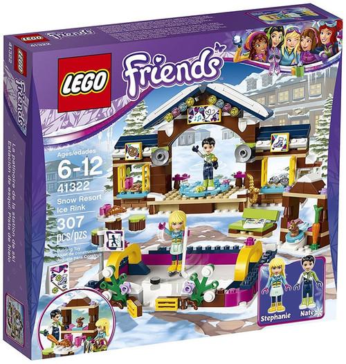 LEGO Friends Snow Resort Ice Rink Set #41322