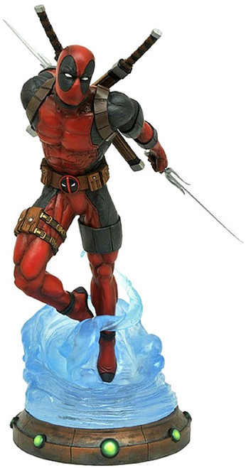 Marvel Gallery Deadpool Exclusive 9-Inch PVC Figure Statue [Ice Edition]